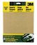 3M Aluminum Oxide Sandpaper 9005NA, 9 in x 11 in, Assorted grit, 5/pk, Open Stock, Obsolete