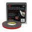 3M Automotive Acrylic Plus Attachment Tape, 06382, Black, 1/2 in x 20 yd, 45 mil, 12 per case