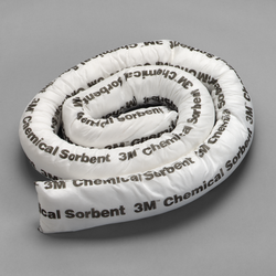3M Chemical Sorbent Mini-Boom P-208, Environmental Safety Product, 6 ea/cs