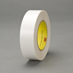 3M Double Coated Tape 9737 Clear, 60 in x 60 yd on plastic core, 1 roll per case