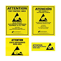SCS ESD Precaution Aides and Warning Posters