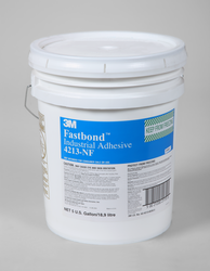 3M Fastbond Industrial Adhesive 4213NF White, 5 gal pail, 1 per case
