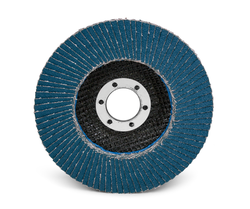 3M Flap Disc 566A, T27 Giant 4-1/2 in x 7/8 in 60 YF-weight, 10 per case