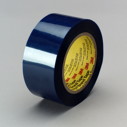 3M General Purpose Polyester Tape 8902 Blue, 6 in x 72 yd, 4 per case