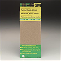 3M General Purpose Sandpaper - Asst, for sanding paint, wood and metal.