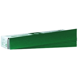 3M Green Corps Hookit Regalite Sheet, 00542, 2 3/4 in x 16 1/2 in, 40E, 50 sheets per box, 5 boxes