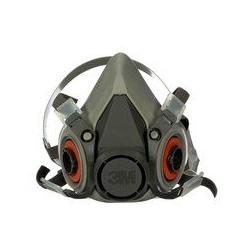 3M Half Facepiece Reusable Respirator 6200/07025(AAD) Medium