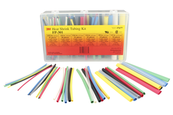 3M Heat Shrink Tubing FP-301-Color-Assortment: 5 Kits/Case