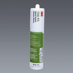 3M Hybrid Sealant 755 Gray, 290 mL Cartridge, 12 per case, NOT FOR RETAIL/CONSUMER USE-OBSOLETE