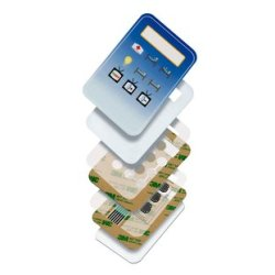 3M Membrane Switch Spacer Double Linered 9059MP Clear, 24 in x 36 in 12.7 mil, 50 per case