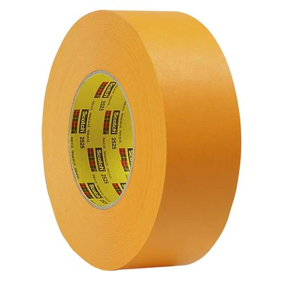 3M Performance Flatback Tape 2525 Orange, 24 mm x 55 m 9.5 mil, 36 per case Bulk