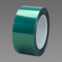 3M Polyester Tape 8992 Green, 4 in x 72 yd 3.2 mil, 8 rolls per case Bulk