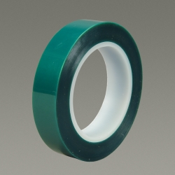 3M Polyester Tape 8992 Green, .5 in x 72 yd 3.2 mil, 72 rolls per case Bulk