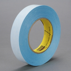 3M Repulpable Double Coated Tape R3227 Blue, 12mm x 55m, 72 per case