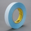 3M Repulpable Double Coated Tape R3227 Blue, 24mm x 55m, 36 per case Bulk