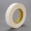 3M Repulpable Double Coated Tape R3227 White, 24mm x 55m, 36 per case Bulk