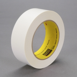 3M Repulpable Flatback Tape R3127 White, 48mm x 55m, 24 per case Bulk