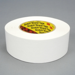 3M Repulpable Strong Single Coated Tape R3187 White, 48mm x 55m, 24 per case Bulk
