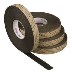 3M Safety-Walk Slip-Resistant Medium Resilient Tapes and Treads 310, Black, 2 in x 60 ft, Roll, 2/