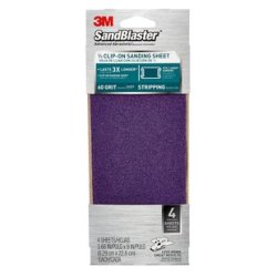 3M SandBlaster 3.66 in x 9 in Power Sanding Sheets 9650