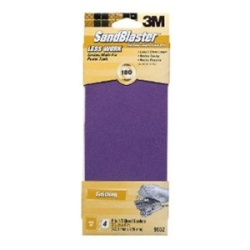 3M SandBlaster 3.66 in x 9 in Power Sanding Sheets 9652 4-Pack