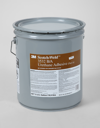 3M Scotch-Weld Urethane Adhesive 3532 Brown Part A, 5 Gallon, 1 per case
