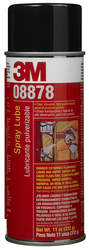 3M Spray Lube, 08878, 11 oz Net Wt, 12 cans per case