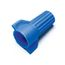 AL-ACW-BL-L ACTCAP - Wing, Blue Thermoplastic, 50 Per Bag, 10 Bags Per Package
