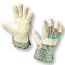 AMMEX 816DP Split Cowhide Gloves, Large, 12 Pairs Per Pack, 10 Packs Per Case