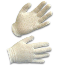 AMMEX CIG-L Cotton Glove Liners White, Large, 12 Pairs Per Pack, 12 Packs Per Case