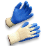 AMMEX K2000-L Latex Dipped Gloves, Large, 12 Pairs Per Pack, 12 Packs Per Case
