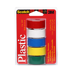 Colored Plastic Tapes