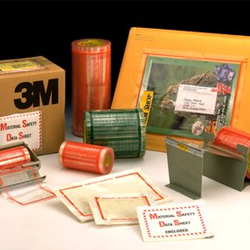 Document Attachment and Label Protection Tapes