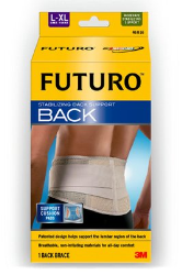FUTURO Stabilizing Back Support, 46816EN, Large/X-Large, Obsolete