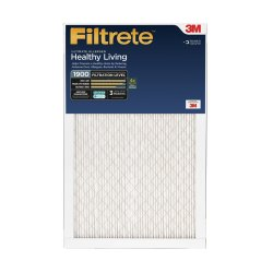 Filtrete Healthy Living 2016-6E, 16 in x 16 in x 1 in (40.6 cm x 40.6 cm x 2.5 cm)-OBSOLETE