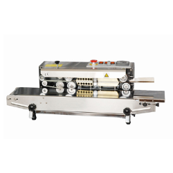 HL FR-880AI HORZ Horizontal Stainless Steel Continuous Band Sealer, FR-880AI
