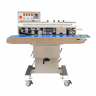 HL FRM-1100C Stainless Steel Continuous Band Sealer with Printer, Tilting Seal Head, FRM-1100C