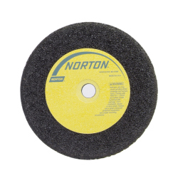 Norton 6 X 1 X 5/8 In. NorZon Plus Snagging Wheel Type 01 Straight Zirconia NZ14-Q