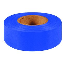 Intertape 6884 1.19X100 Flagging Ribbon 6884, Blue, 1.19 Inch x 100 Yard, 144 Per Case