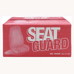 Marson Kwikee Disposable Plastic Seat Covers, 30200, 125 per box, 1 box per case