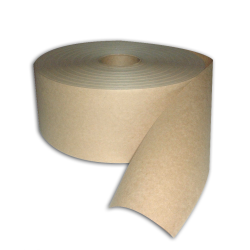 Medium Duty Kraft Gum Tape 160 Natural, 2-1/2 in x 600 ft, 12 Per Case