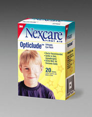 Nexcare Opticlude Orthoptic Eyepatch 1539, Regular, 3.18 in x 2.18 in (81 mm x 55.5 mm) 20 patches