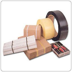 PAC 40R Cord Strapping Rayon, Wdth, 1/2, Length 3900 Feet, Break, 465 Lbs., Coil Size, 3x5 Col, Tan