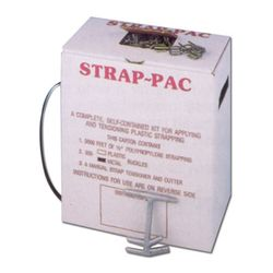 PAC EP48 Light Duty Kit, 9000 1/2 Light Duty Strapping, 1000 Open Seals, 1 Tensioner, 1 Sealer