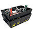 Protektive Pak 37621 - Nesting Tote, Top Outer Dimension, 18 in x 12 in x 6 in
