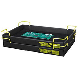 Protektive Pak 37760 - Super Tek-Tray with Wire, 18 in x 11-3/8 in x 1-3/4 in