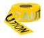 PRESCO R3103Y16 3 x 1000 Ft, 3 Mil, Caution Yellow Day Night Visibility Barricade Tape, 8 Rolls