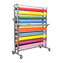 Paper Rack, Horizontal, Twenty Roll Horizontal Rack