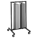 Paper Rack, Vertical, Double Roll