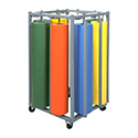 Paper Rack, Vertical, Eight Roll K.D.